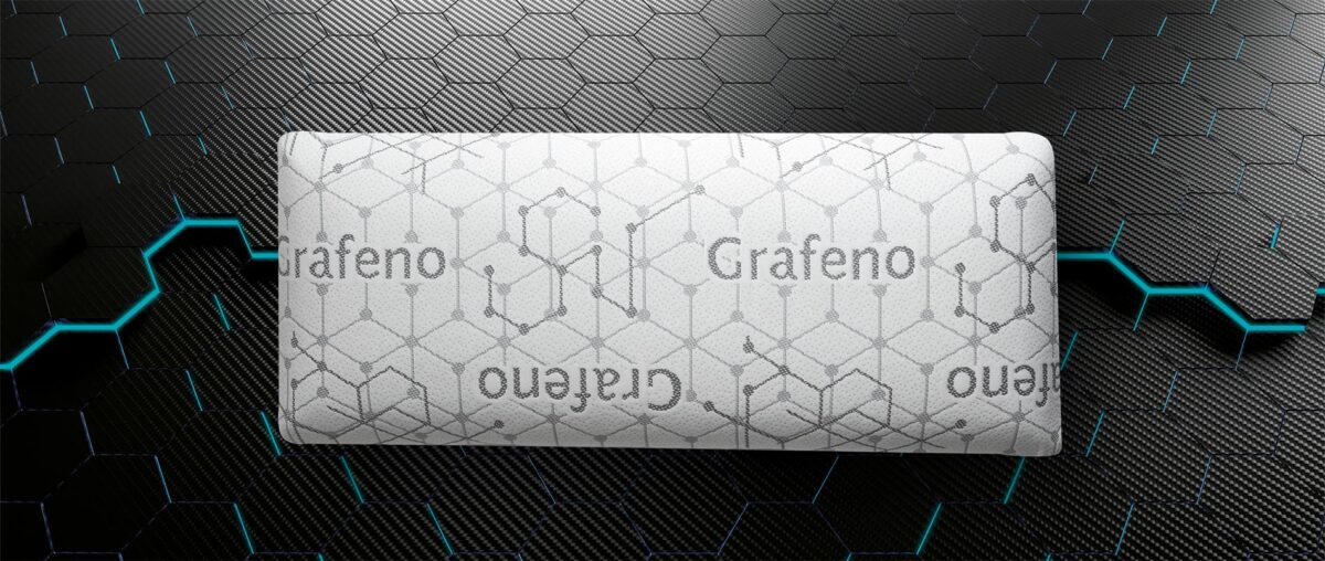 Poduszka Visco-Grafeno Momoryluxe 3D